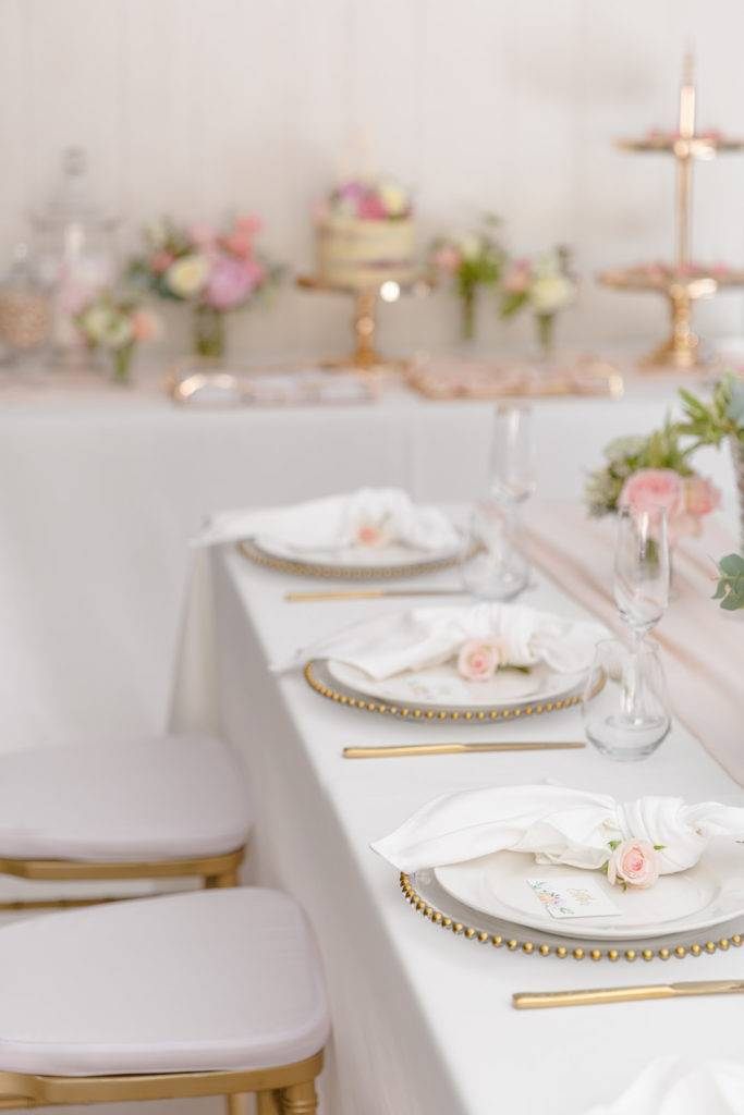 Table setting by Adorn Event hire