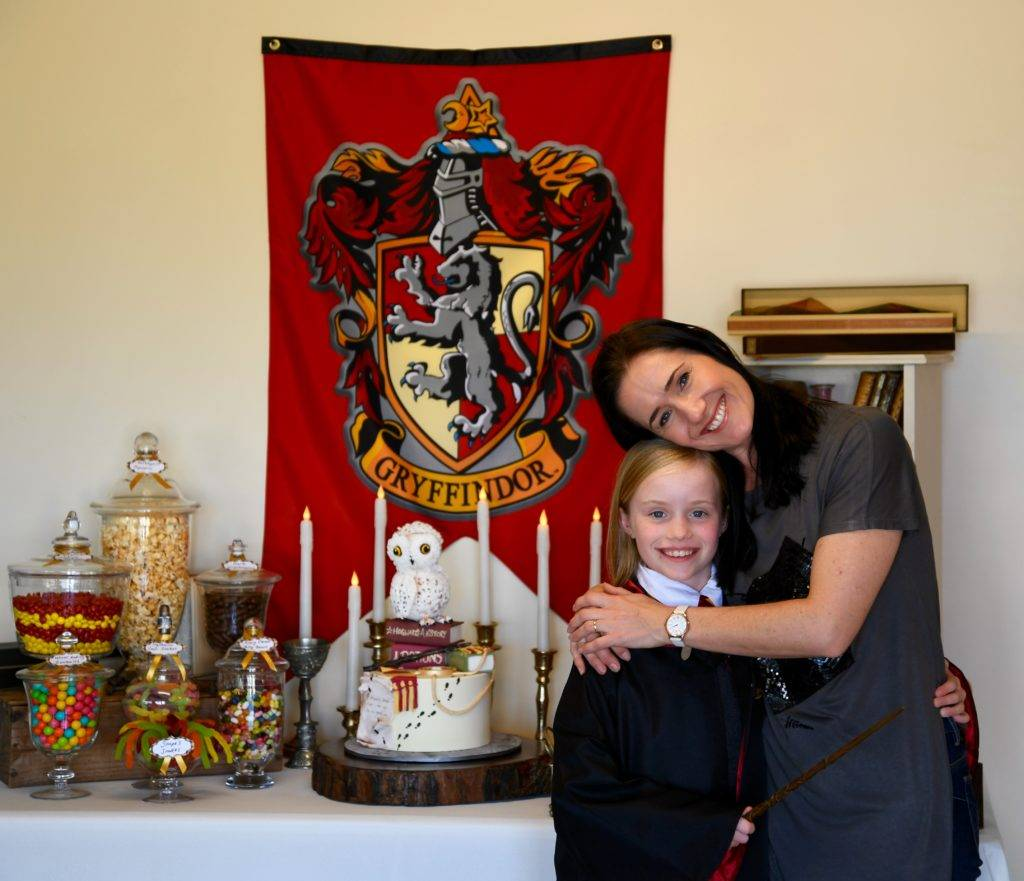 Harry potter themed birthday party styling