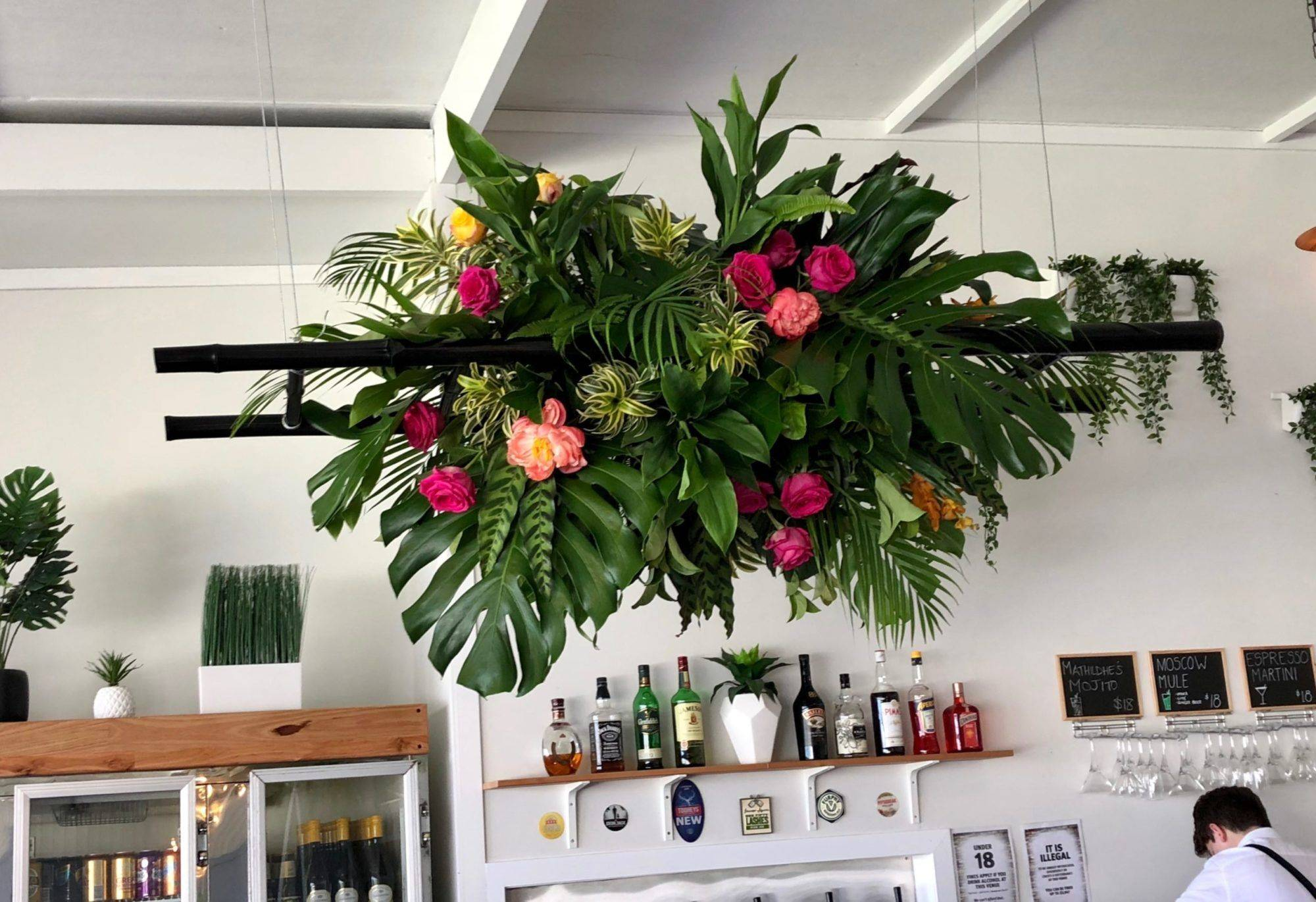 Tropical Cocktail Wedding at Events on Oxlade