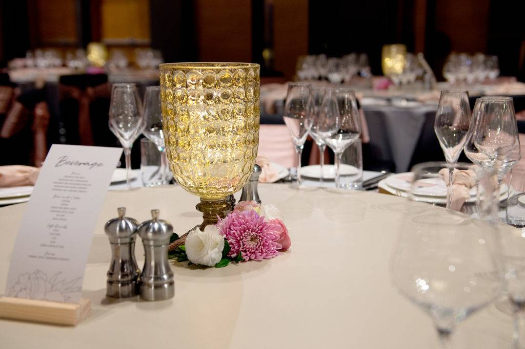 Lavender, Grey and Dusty Pink Wedding at W Hotel